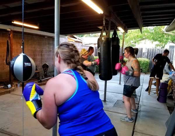 Boxing Lessons in Napa