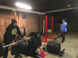 Training fitness in napa